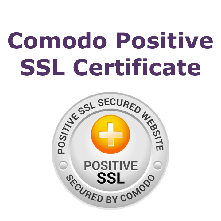 Comodo Positive SSL Certificate (Annual Fee)
