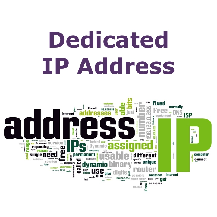Dedicated IP Address (Annual Fee)
