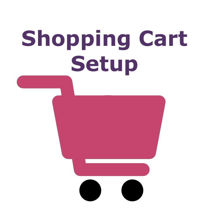 Shopping Cart Setup